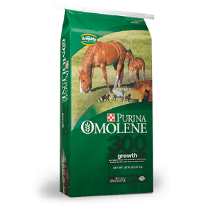 Purina Omolene #300 Horse Feed