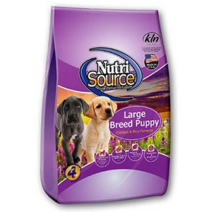 NutriSource® Large Breed Puppy Chicken and Rice Formula 6.6#