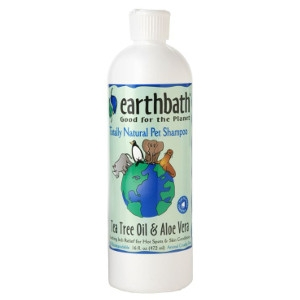 Earthbath Tea Tree & Aloe Shampoo 16 oz.