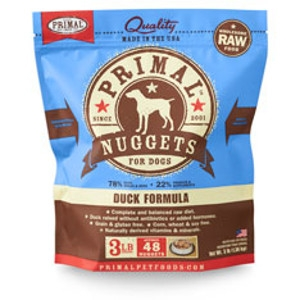 Primal Canine Duck Nuggets 3Lb