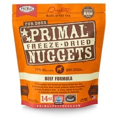 Primal Canine Beef Freeze Dried Formula