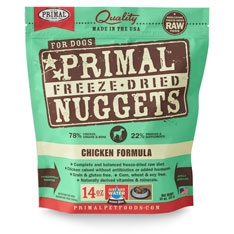 Primal Canine Chicken Freeze Dried Formula