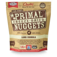 Primal Canine Lamb Freeze Dried Formula 14oz