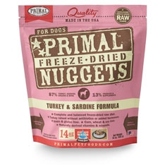 Canine Turkey & Sardine Freeze Dried Formula