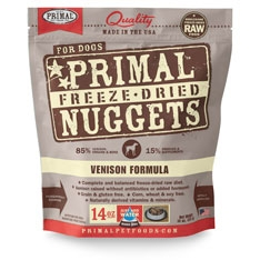 Primal Canine Venison Freeze Dried Formula