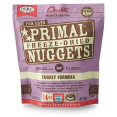 Primal Feline Turkey Freeze Dried Formula