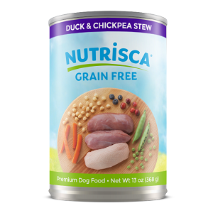 Nutrisca® Duck & Chickpea Stew Dog Food