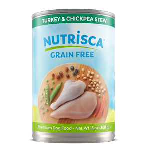 Nutrisca® Turkey & Chickpea 12/13Oz Can