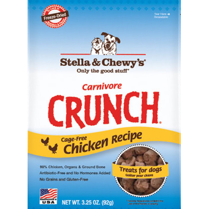 Stella & Chewy's Carnivore Crunch Chicken Treats