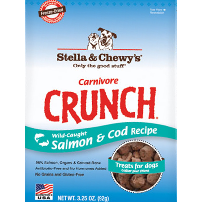 Stella & Chewy's Carnivore Crunch Wild-Caught Salmon & Cod Treats
