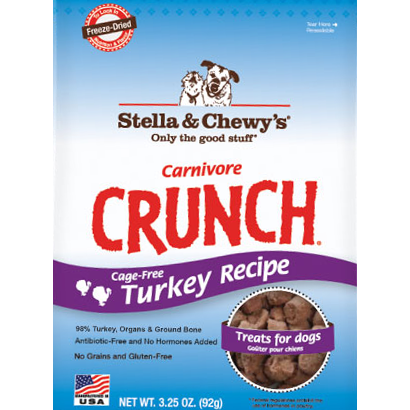 Stella & Chewy's Carnivore Crunch Turkey Treats