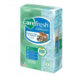 Carefresh® Custom Guinea Pig & Rabbit Natural Paper Bedding- Blue, 23L
