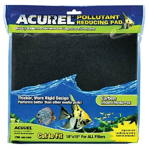 Acurel Pollutant Reducing Carbon Infused Media Pad- 10