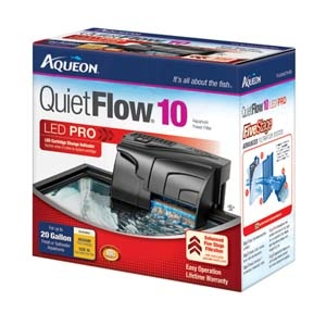 Aqueon QuietFlow™ Power Filter- 10