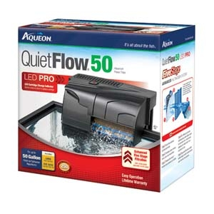 Aqueon QuietFlow™ Power Filter- 50
