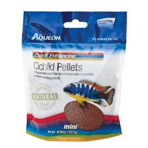 Cichlid Color Enhancing Food- 4.5oz