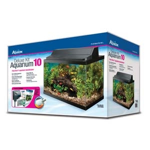 Deluxe Aquarium Kit- 10Gal