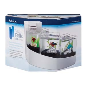 Betta Falls Aquarium Kit- White