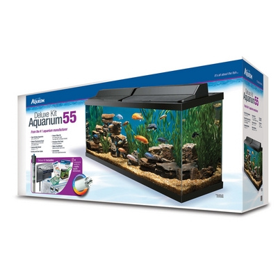 Deluxe Aquarium Kit- 55Gal