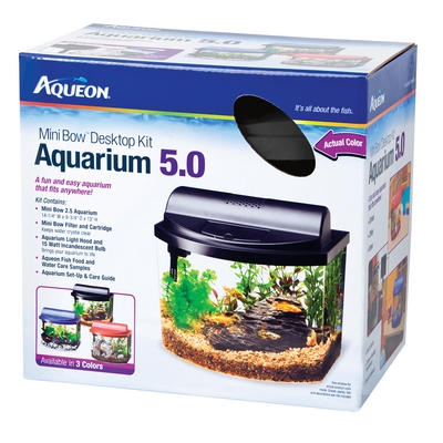 Mini Bow™ 5.0- Desktop Aquarium Kit - 5 Gal