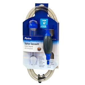 Aqueon Siphon Vacuum- 10in with Bulb
