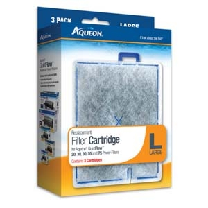 Aqueon Filter Cartridge Large- 3Pack
