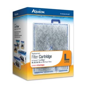 Aqueon Filter Cartridge Large- 6Pack