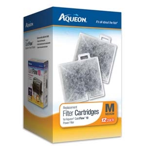Aqueon Filter Cartridge Medium- 12Pack