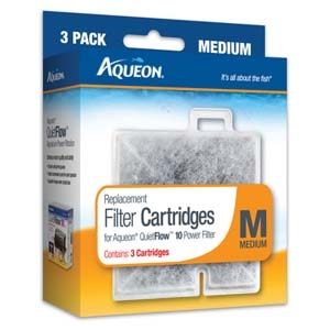 Aqueon Filter Cartridge Medium- 3Pack