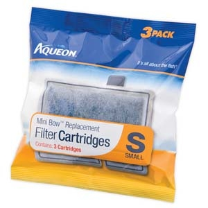 Aqueon Filter Cartridge Small- 3Pack