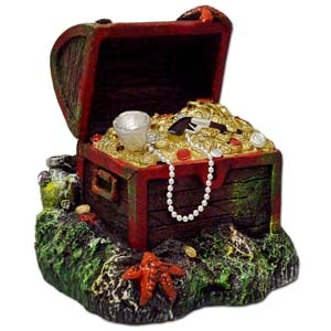 Exotic Environments® Small Wonders Captain Kidd's Buried Treasure Chest