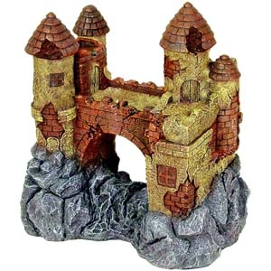 Exotic Environments® JUMBO Size Castle with Bridge
