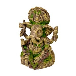 Exotic Environments® Ganesha Statue with Moss