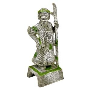 Exotic Environments® Thai Warrior Statue with Moss