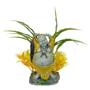 Exotic Environments® Happy Buddha with Plants