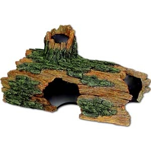 Exotic Environments® JUMBO Size Hollow Log