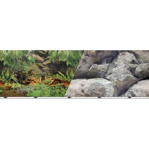 Vibran-Sea® Double Sided Background 19 – Rainforest/Freshwater