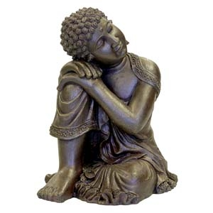 Exotic Environments® Resting Buddha Statue