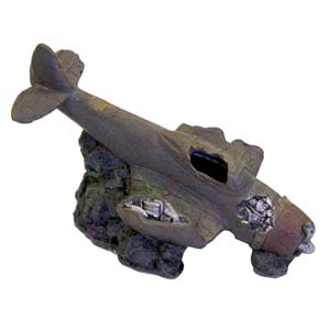 Exotic Environments® Sunken WWII Plane w/Cave