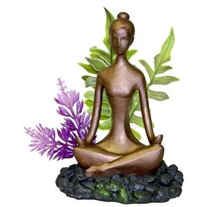 Exotic Environments® Zen Girl with Plant
