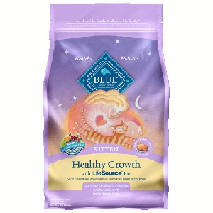 BLUE™ Healthy Growth Chicken & Brown Rice Recipe For Kittens- 7lbs