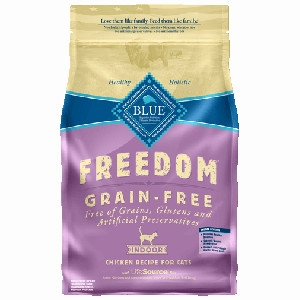 BLUE Freedom® Grain-Free Indoor Chicken Recipe For Adult Cats- 11lbs