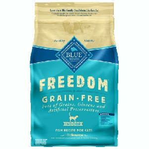 BLUE Freedom® Grain-Free Indoor Fish Recipe For Adult Cats- 5lbs