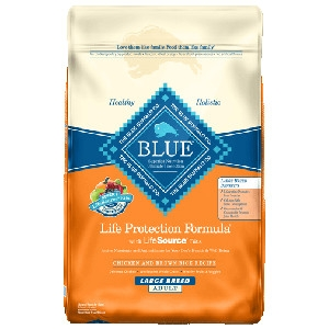 Blue Buffalo Large Breed Chicken/Brown Rice Dog 30#