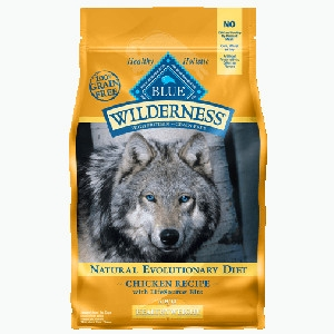 Blue Buffalo Wilderness Healthy Weight Chicken Dog 4.5# C=4