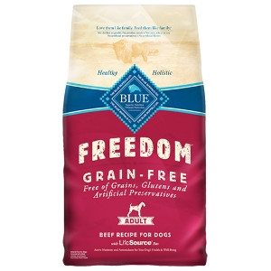 Blue Buffalo Freedom Adult Beef Dog 11lb