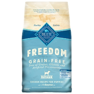 Blue Buffalo Freedom Chicken Puppy Food 4#