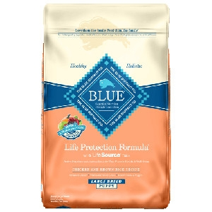 Blue Buffalo Large Breed Chicken/Brown Rice Puppy 15#