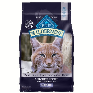Blue Buffalo Wilderness Mature Chicken Cat 5# C=4