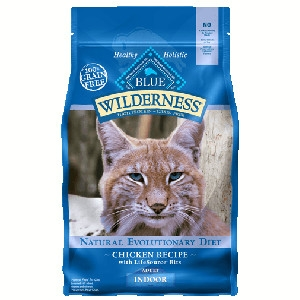 Blue Buffalo Wilderness Indoor Chicken Cat 2# C=6